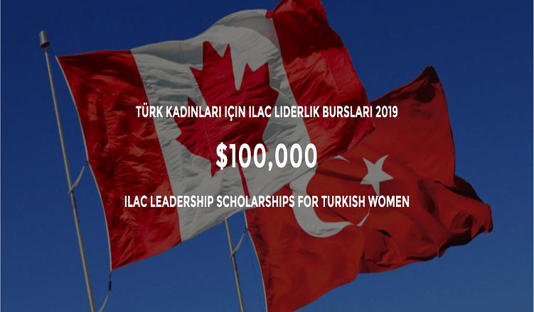 Türk Kadınları için ILAC Liderlik Bursları 2019